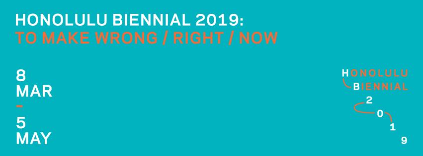 Honolulu Biennial 2019 announces full artist list and