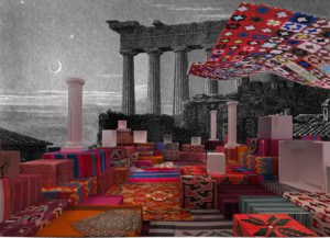 """Andreas Angelidakis: """"Study for Crash Pad"""", 2013 (Courtesy Berlin Biennale and the artist)"""