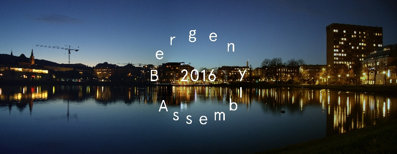 The second edition of Bergen Assembly takes place in 2016