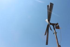 Abu Ali Al-'Arbini, Yaseen Al-Bushy, and Khaled Malas, Windmill in Eastern Ghouta, 2014.