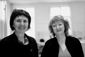 Yvonne Farrell and Shelley McNamara