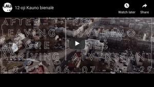 12th Kaunas Biennial trailer